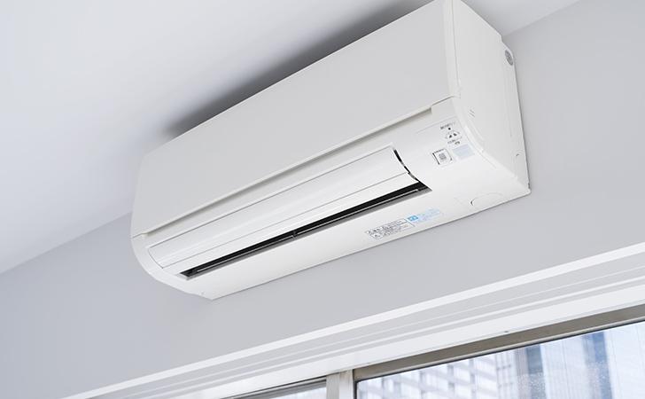 エアコンの取り付け工事