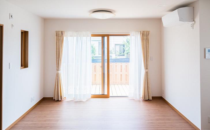 引っ越しの際のエアコン取り換え工事