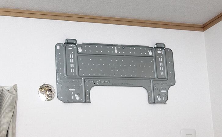 エアコンが付いていない壁