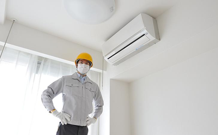 エアコン取り付けの注意点